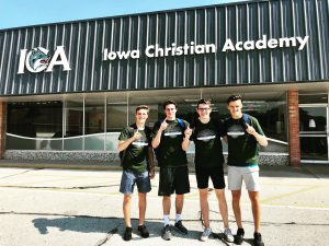Iowa Christian Academy Hockey Players